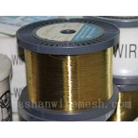 Bashan factory direct supply  Cu60%,Zn40%  0.01~0.30mm EDM brass wire for cutting Manufactures