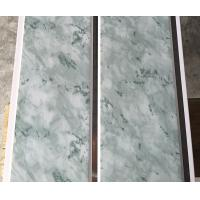 25cm Middle Groove Printing Ceiling PVC Panels Easy Install / Cleaning Manufactures