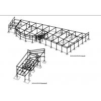 Quality Pre - Fabricated Painting Galvanized Steel Structure Shed Lightweight for sale