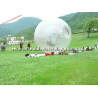 Quality Outdoor Transparent Inflatable Zorb Ball Soccer Bubble Bumper Ball for sale