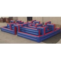 0.8 PVC Family Marketing Custom Inflatable Products Inflatable Arena 16m x 6m Manufactures