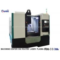 FANUC Spindle Motor CNC Vertical Machining Center For Zinc Processing Manufactures