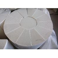 Multichannel Bricks Plate Distillation Column , Honeycomb Structural Packing