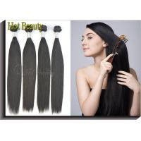 Peruvian Virgin Human Hair Extensions Silky Straight Healthy Ends Durable Manufactures
