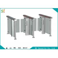 Fingerprint Rfid Supermarket Swing Gate Semi Automatic  High Security Turnstile Manufactures