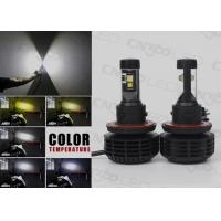 High Lumens All In One H13 LED Headlight Kit With Perfect Beam Pattern Manufactures