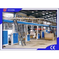 Buy cheap Steam Heating 5ply 250m/min Corrugated Cardboard Production Line from wholesalers