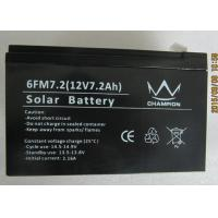 6fm7.2 Deep Cycle Black Charging Lead Acid Batteries With Solar Manufactures