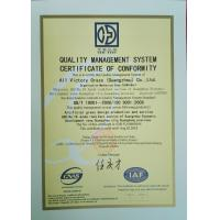 All Victory Grass (Guangzhou) Co., Ltd Certifications