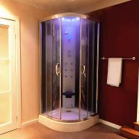 Multi Function Massage Steam Shower Bath Cabin Mirror Glass Back Wall Manufactures