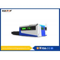 Sheet Metal Fiber Optic Laser Cutting System With Laser Power 1500W Manufactures