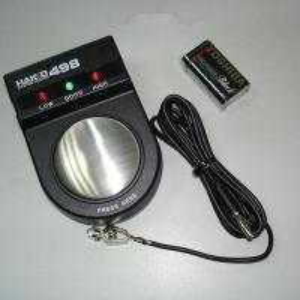 Black 498 static wrist strap tester, system tester static measurement Manufactures