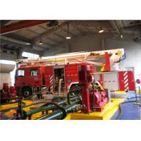 Quality 39 Ton Water Tower Fire Truck Imported Chassis Full Authorized Total Mass 31000KG for sale