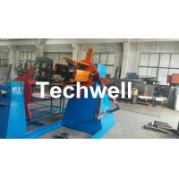 Active Uncoiling , Hydraulic To Expand 5, 10, 15 Ton Hydraulic Uncoiler / Decoiler With Coil Width 1500mm Manufactures