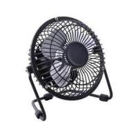 8 inch black antique electric metal table USB mini fan with 220V / 50Hz or 110V / 60Hz Manufactures