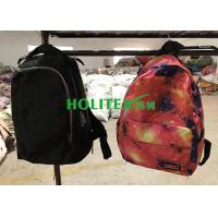 Clean Used School Bags Mixed Size Second Hand Backpacks For Female / Male Manufactures