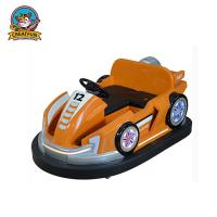 Outdoor Amusement Park Bumper Cars Adjustable Speed With Colorful LED Light Manufactures