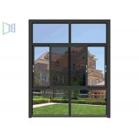 Economic Aluminium Replacement Windows , Space Saving Double Glazed Sliding Windows Manufactures