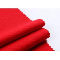 textiles polyester dobby recycle knit jacquard pique fabric Plain Dyed Manufactures