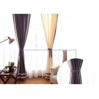 patchwork white and navy curtains , Plain Style Home living room curtains Manufactures