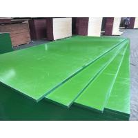 China ACEALL Construction Shuttering Green PP PVC Plastic Film Coated Plywood Board Lumber Manufactures