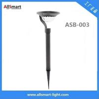 Quality 100lm 1.2W 2LED Aluminum stainless steel solar powered pathway lawn lights for landscaping for sale