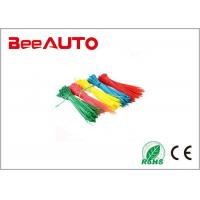 Colorful Self Locking Electric Wiring Nylon Cable Ties Electrical Wiring