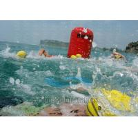 Adjustable SUP Swimming Floating Marker Buoys Red Inflatable Manufactures