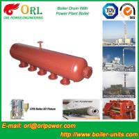 Oil-fired ISO9001 SA516GR70 Boiler mud drum with Natural Circulation Manufactures