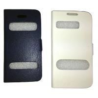 Universal Black Cell Phone Protective Cases With PU For Samsung / Nokia Manufactures