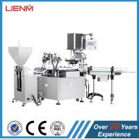 Automatic / Manual Cosmetic Filling Machine For Cosmetic Creams / Lotions Manufactures