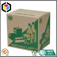 Green Color Logo Custom Print Beer Packaging Box; Wine Corrugated Packaging Box Manufactures