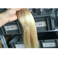 Silky Straight Peruvian 613 Hair Bundles , Beach Blonde Color Hair Extensions Manufactures