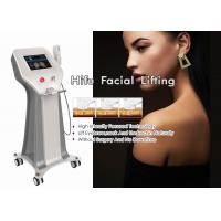 Ultrasound Intensive Anti Aging HIFU Facelift Machine Iso13485 Approved Manufactures