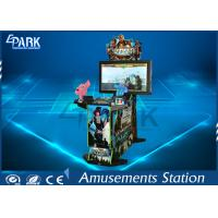 42 Inch Fire Power Arcade Shooting Games / Stand Up Arcade Machine For Entertainment Manufactures