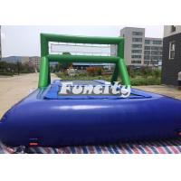 0.9MM PVC Tarpaulin Inflatable Sport Games Water Volleyball Court / Water Bossball Manufactures