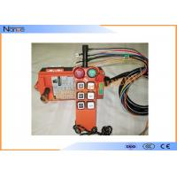 F21-E1 Radio Wireless Hoist Remote Controller Within 100m Control Distance Manufactures