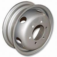 Steel Trailer Rims with 3 Ellips Style, 170mm PCD, 17mm Diameter and 1,480lbs Loading Capacity Manufactures
