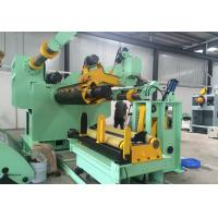 Pneumatic Cylinder Pressing Coil Strip Uncoiling Machine With Loading Coil Car Manufactures