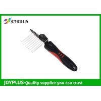 JOYPLUS Metal Rubber Pet Hair Remover Brush OEM / ODM Acceptable 26CM Manufactures