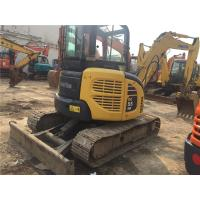 Buy cheap 12V Voltage second Hand Mini Diggers Komatsu PC55MR - 2 With 72 Ah Battery from wholesalers