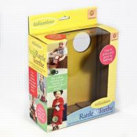 Fashion Design Toy Corrugated Packaging Box Clear Plastic Window Hanging Tab Manufactures