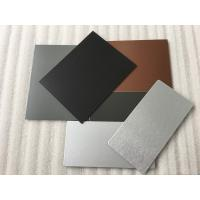 3 Coats PVDF Aluminum Composite Panel Boards High Intensity For Interior Wall Manufactures