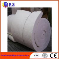 White Ceramic Insulation Blanket For Boiler / Refractory Ceramic Fire Blanket Manufactures