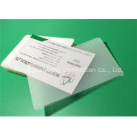 Thermal Laminating Pouches Business Card Size 150 Mic With Adhesive EVA