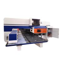 400-600 Hpm Stainless Steel Aluminum Alloy Plate CNC Turret Punching Machine Manufactures