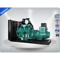 800Kw / 1000Kva Open Type Diesel Generator With Cummins Engine 1200L Fuel Tank Capacity Manufactures