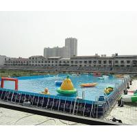 Quality Outdoor Above Ground Pool for water park for sale