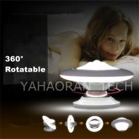 China 0.8w Indoor 360 degree rotating motion Sensor LED Night Light Lamp with Magnet on sale