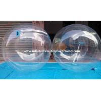 Transparent TPU Inflatable Walk On Water Ball With Germamy Tizip Zipper Manufactures